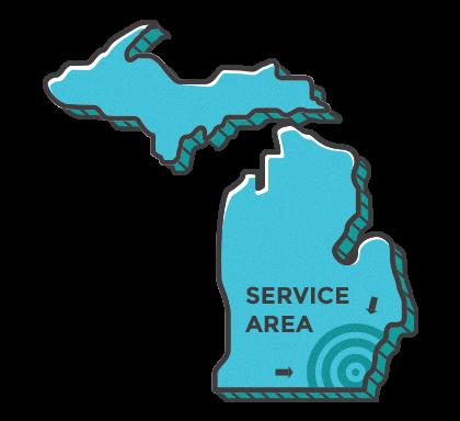 Mich Service Area